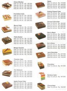 Daftar Menu Dapur Cokelat