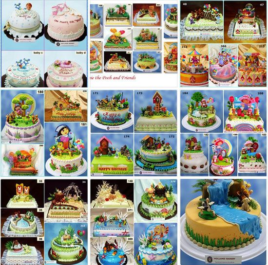 Harga Kue Ulang Tahun Holland Bakery Terbaru Yang Enak Dan Mewah