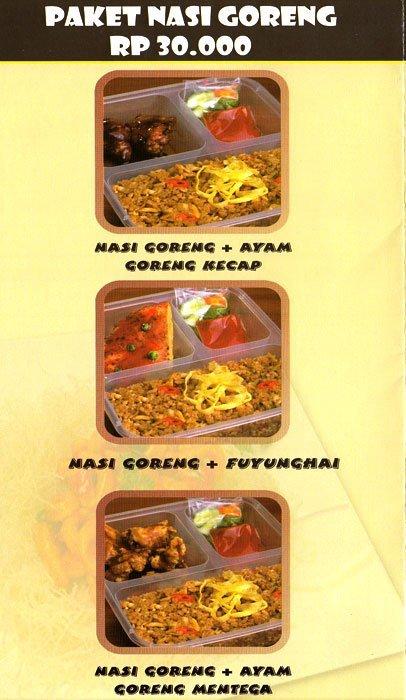 Paket Nasi Goreng Resto 499