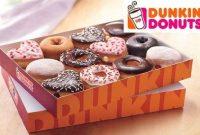 Harga Dunkin Donuts 1 lusin