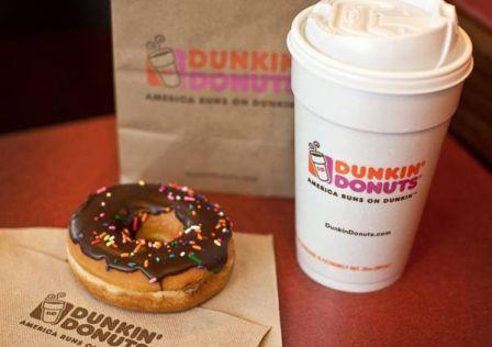 Menu Dunkin Donuts Delivery