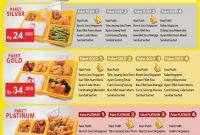 Harga menu delivery dcost terbaru