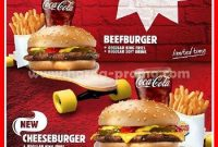 Promo Menu Burger King