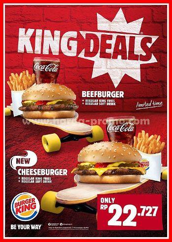 Promo Menu Burger King