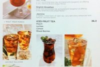 Harga Beverage di Excelso