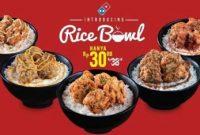 Daftar Harga Menu Rice Bowl Terbaru
