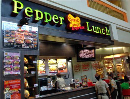 Pepper lunch resto