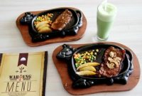 Menu Saroeng Steak