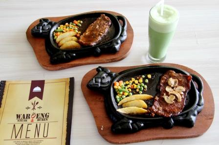 Menu Waroeng Steak