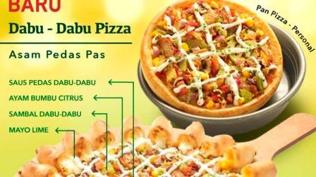 Topping Pizza Hut Dabu dabu