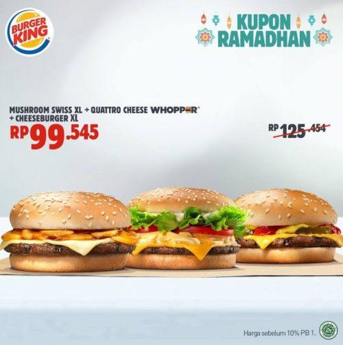 Promo Kupon Hemat Ramadhan Musshroom Swiss Whopper