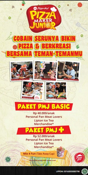 Promo Pizza Hut - Pizza Maker Junior