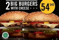 Paket Double Carls JR California Deals