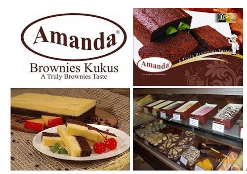 Harga Brownies Amanda