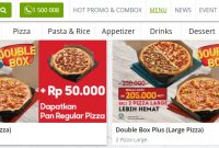 Harga Double Box Pizza Hut