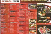 Harga Menu Ichiban Sushi Lengkap via Pergikuliner