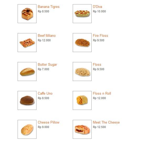 Update Harga Kue Roti Menu Breadtalk Terbaru 2019 Bisa