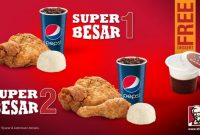 Harga Menu Paket Super Besar KFC