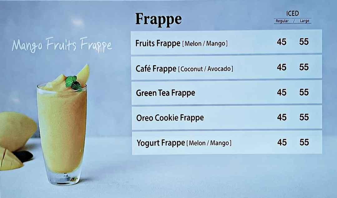 Minuman Frappe
