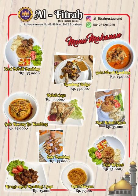 Masakan Timur tengah Al-Fitrah