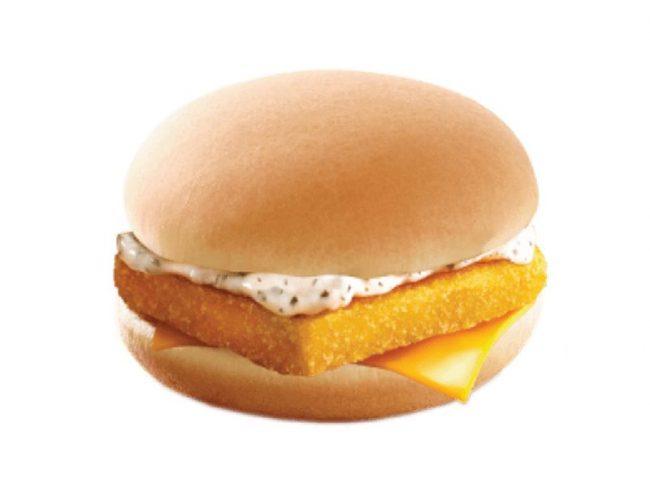 Fish Fillet Yakiniku Burger