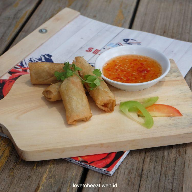 Spring Roll Dapur Seafood via Lovetobeeat