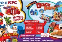 Harga Menu Paket Ultah KFC